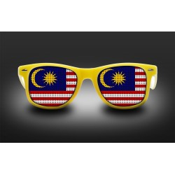 Supporter eyeglasses - Malaysia - flag