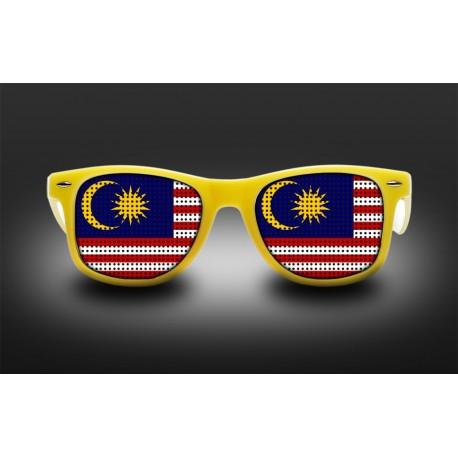 Lunettes de supporter - Malaisie - Drapeau