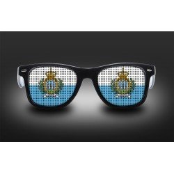 Supporter eyeglasses - San Marino - flag