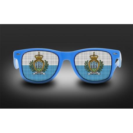 Supporter eyeglasses - San Marino - flag