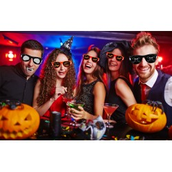 5-pack of halloween eyeglasses