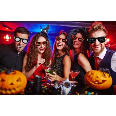 Pack de 5 lunettes pour Halloween