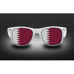Supporter eyeglasses - Qatar - flag