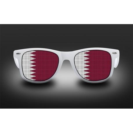 Lunettes de supporter - Qatar - Drapeau