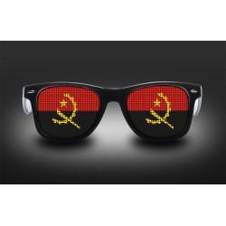 Lunettes de supporter - Angola - Drapeau