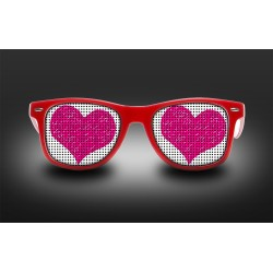 Eyeglasses heart