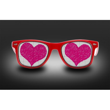 Eyeglasses heart