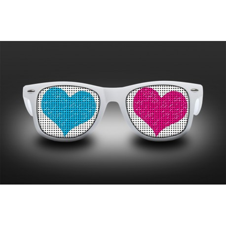 Eyeglasses heart - 2 colors