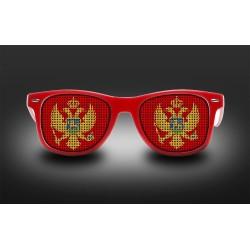Lunettes de supporter - Montenegro - Drapeau
