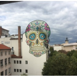 Skull Mexicain - Sticker