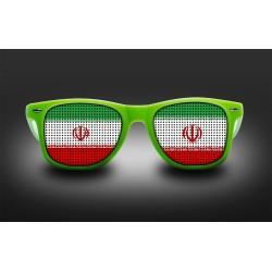 Lunettes de supporter - Iran - Drapeau
