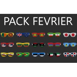 Fêtes nationales - Pack Fevrier