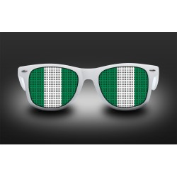 Lunettes de supporter - Nigeria - Drapeau