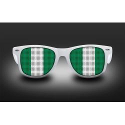 Supporter eyeglasses - Nigeria - flag