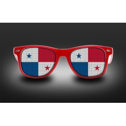 Supporter eyeglasses - Panama - flag