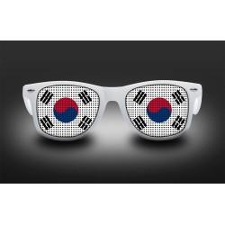 Lunettes de supporter - Corée du sud - Drapeau