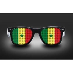 Lunettes de supporter - Sénégal - Drapeau