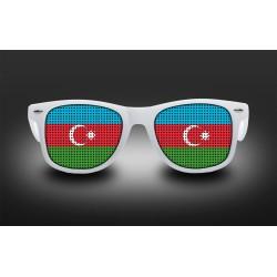 Lunettes de supporter - Azerbaidjan - Drapeau