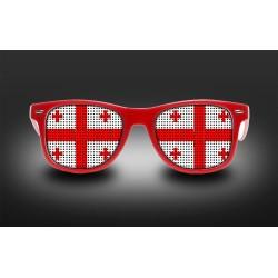 Supporter eyeglasses - Georgia - flag