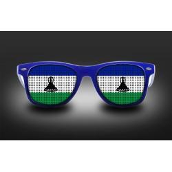 Lunettes de supporter - Lesotho - Drapeau
