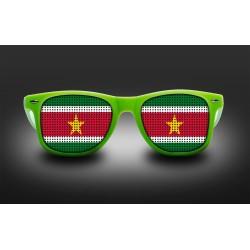 Lunettes de supporter - Suriname - Drapeau