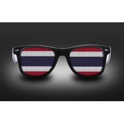 Supporter eyeglasses - Thailand - flag