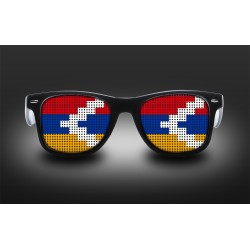 Supporter eyeglasses - Nagorno-Karabakh - flag