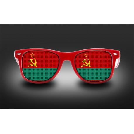 Lunettes de supporter - Transnistrie - Drapeau
