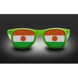 Lunettes de supporter - Niger - Drapeau