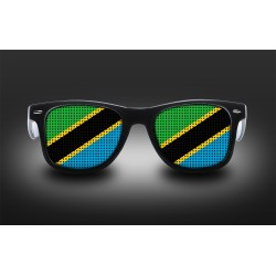 Lunettes de supporter - Tanzanie - Drapeau