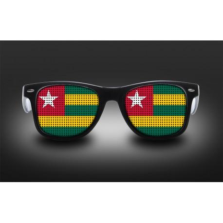 Lunettes de supporter - Togo - Drapeau