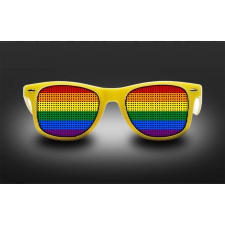 Lunettes de fierté - Arc En Ciel - LGBT