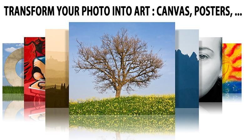 tranform your pics into art