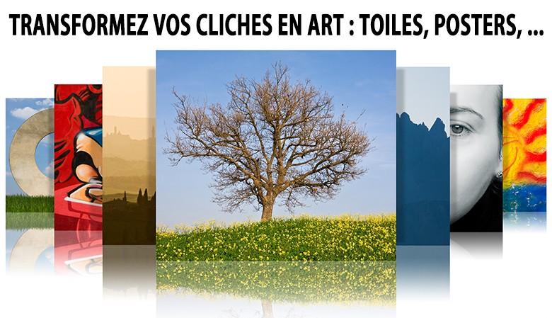 Transformez vos clichés en art