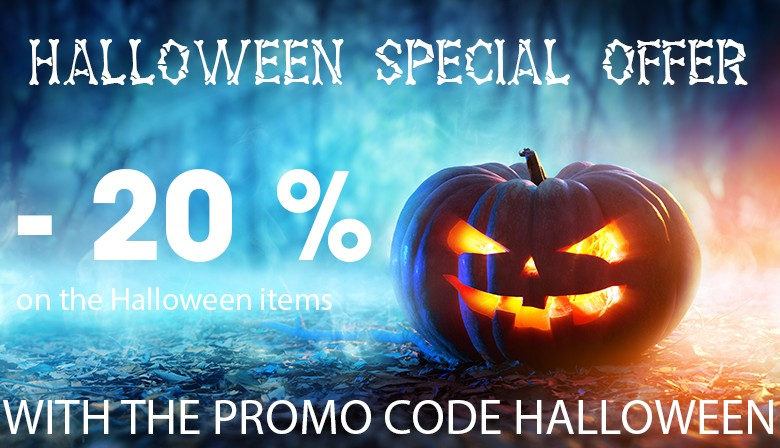 -20% on the halloween items.