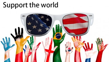 Support the world